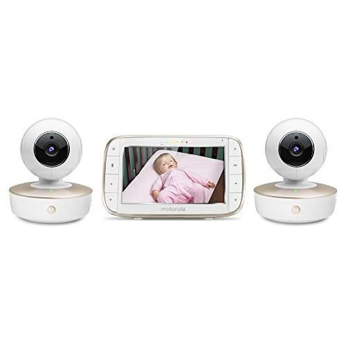 Best Baby Monitor for Multiple Rooms – Motorola Dual Camera Baby Monitor Review